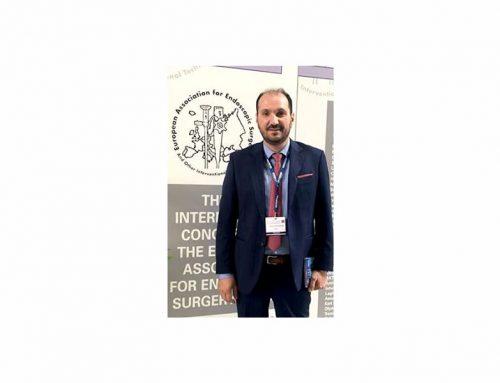 Ξεχώρισαν οι παρουσιάσεις του Δρ. Χάρη Κωνσταντινίδη σε Διεθνές Συνέδριο Ενδοσκοπικής Χειρουργικής