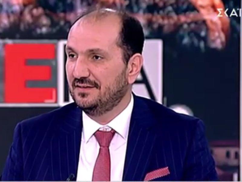 """Συνέντευξη του Δρ. Χάρη Κωνσταντινίδη στην Εκπομπή """"ΣΗΜΕΡΑ"""" του ΣΚΑΙ"""